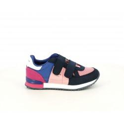 Zapatillas deporte Pepe Jeans combinación en azul , rosa y fucsia