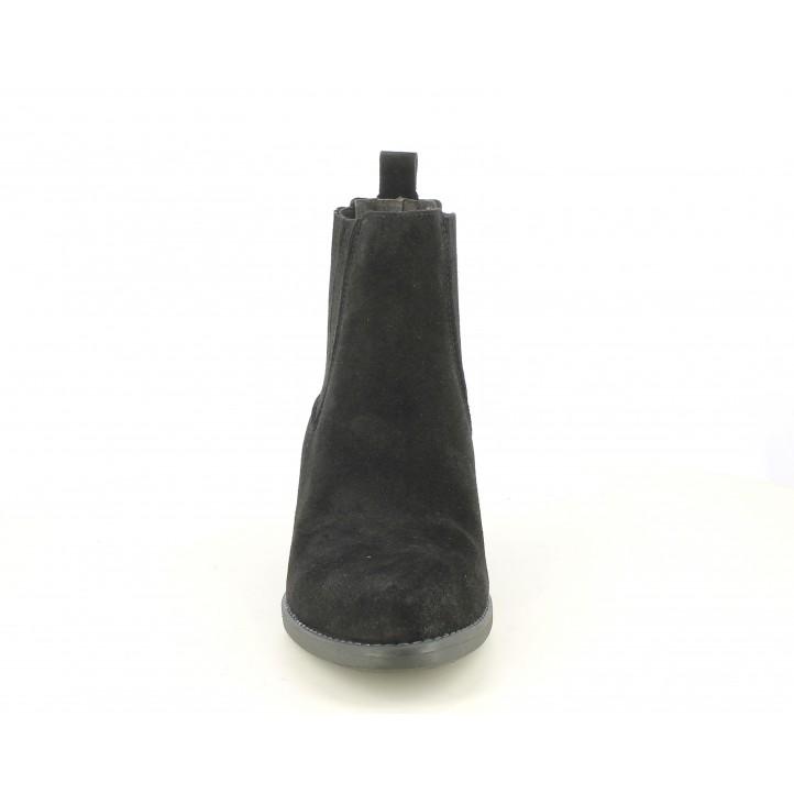 Botins de taló Redlove negro de serratge amb elàstic en turmell - Querol online