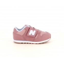 Zapatillas deporte New Balance rosas con detalles en lila - Querol online