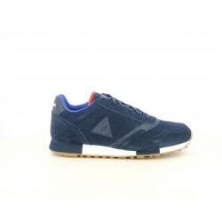 Zapatillas deportivas Le Coq Sportif azules de ante perforado - Querol online