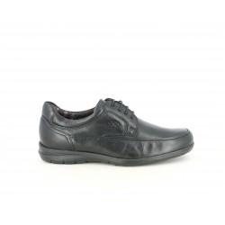 Zapatos vestir Fluchos negros con cordones y plantillas extraíbles - Querol online