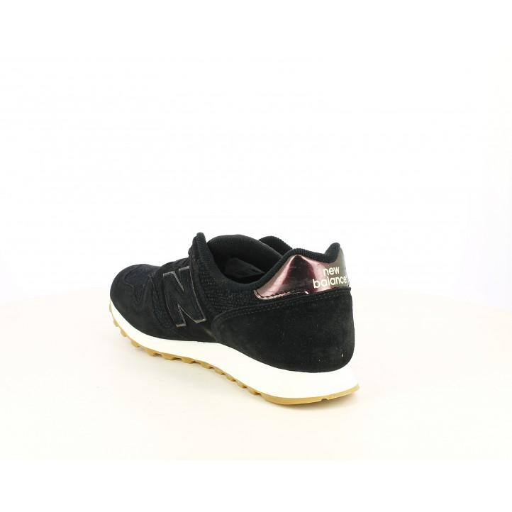 Zapatillas deportivas New Balance negras con detalles brillantes - Querol online