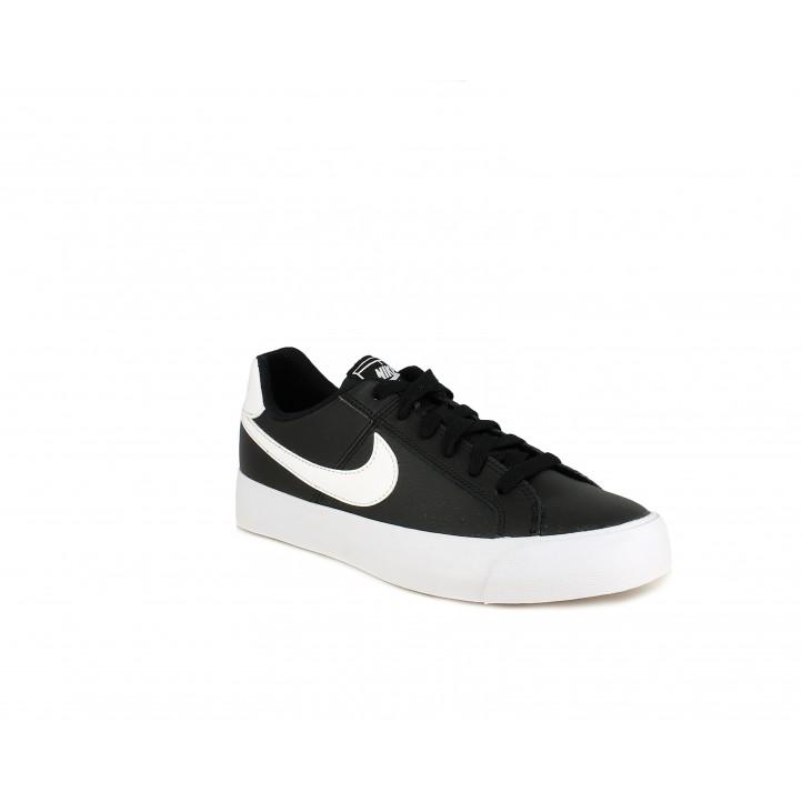 Sabatilles esportives Nike court royales ac negres amb cordons - Querol online