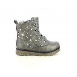 Botines XTI KIDS grises con detalles metalicos - Querol online