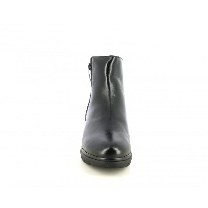Botines Suite009 con cremalllera y tejido animal print - Querol online