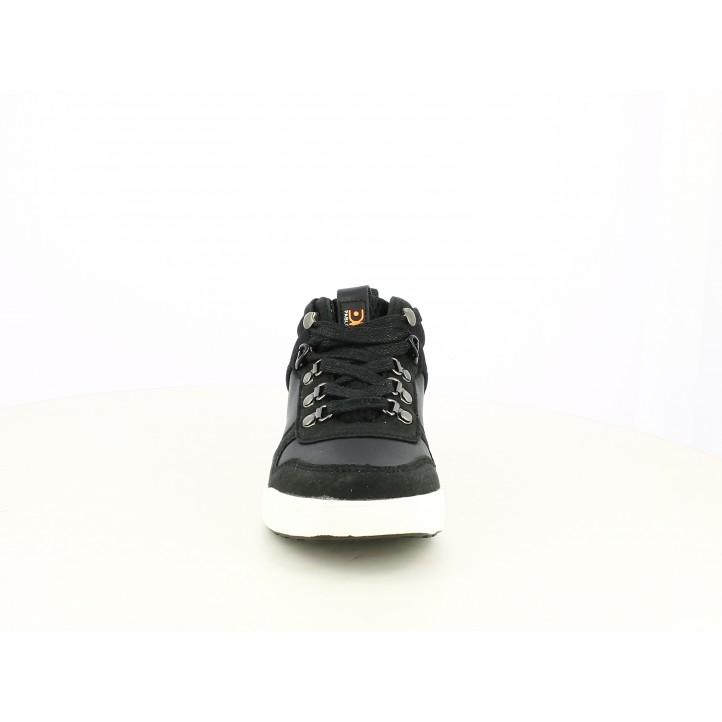 Botines Pablosky negros con cordones ajustables y forro transpirable - Querol online
