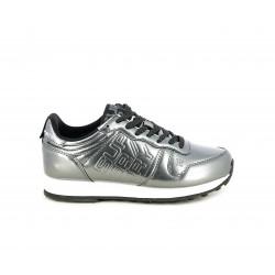 Zapatillas deportivas Superdry metalizadas gris NEON STREET - Querol online