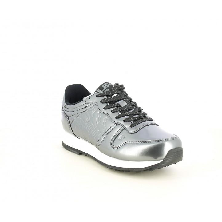 Sabatilles esportives Superdry metal.litzats gris neon street - Querol online