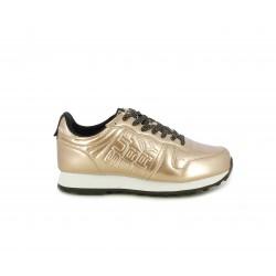 Zapatillas deportivas Superdry metalizadas dorado rosa neon street - Querol online