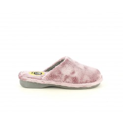 Zapatillas casa Laro rosas acolchadas y suelas antideslizantes - Querol online
