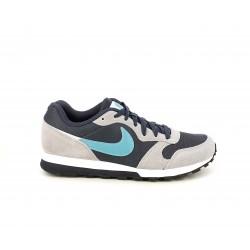 Zapatillas deportivas Nike md runner en azul y gris - Querol online