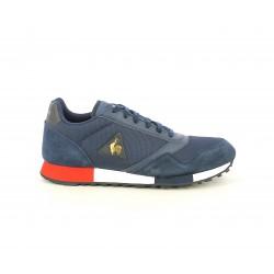 Zapatillas deportivas Le Coq Sportif azules combinada en textil , piel y nailon - Querol online