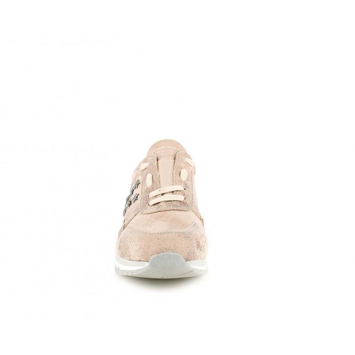 Zapatillas deportivas Refresh rosas con detalles brillantes - Querol online