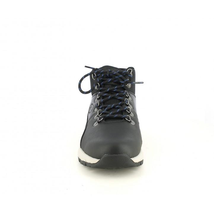 Botins Skechers negres de cordons amb plantilles memory foam - Querol online
