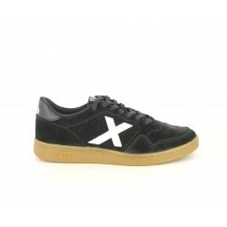 Zapatillas deportivas MUNICH arrow negro y blanco - Querol online