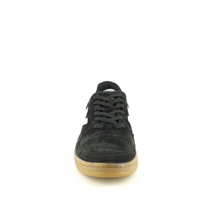 Zapatillas deportivas MUNICH arrow negro y blanco - Querol online