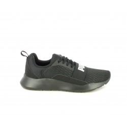 Zapatillas deportivas Puma wired negras con cordones - Querol online