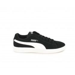 Zapatillas deportivas Puma smash negro con detalles blancos - Querol online