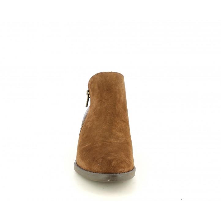 Botins Redlove marrons combinat en serratge i serp - Querol online