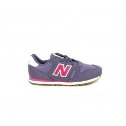 Zapatillas deporte New Balance lilas con detalles en rosa
