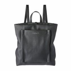 bolsos Slang Barcelona mochila negra dos asas regulables y múltiples bolsillos en el interior - Querol online