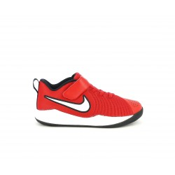 Zapatillas deporte Nike team hustle quick rojo y blanco