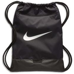Complementos Nike saco de gimnasio negro con bolsillo delantero - Querol online