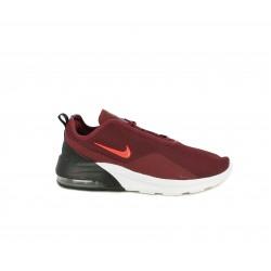 Zapatillas deportivas Nike air max motion granates con suela blanca - Querol online