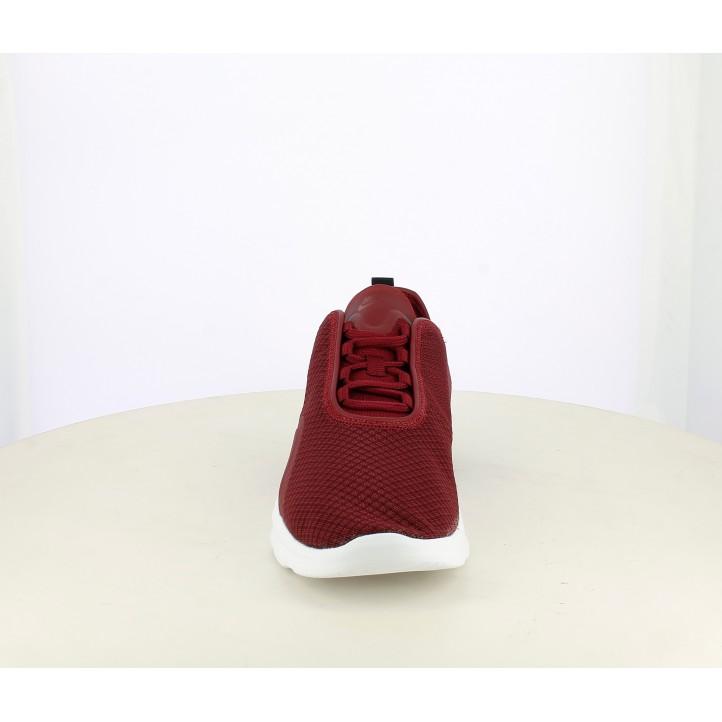 Sabatilles esportives Nike air max motion vermell fosc amb sola blanca - Querol online