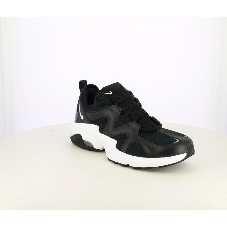 Zapatillas deportivas Nike air max graviton negras con suela blanca - Querol online