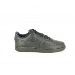 Zapatillas deportivas Nike court vision negras con cordones - Querol online
