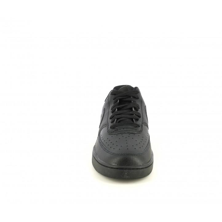 Sabatilles esportives Nike court vision negres amb cordons - Querol online