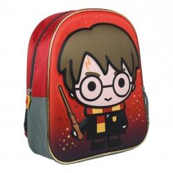 Mochilas Cerda roja con bolsillo lateral de Harry Potter - Querol online