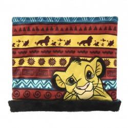 Complementos Cerda cuello polar rojo, amarillo y verde del rey león