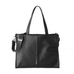 Complementos Slang Barcelona bolso shopper negro con bandolera - Querol online