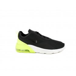 Zapatillas deportivas Nike air max motion negras con suela blanca - Querol online