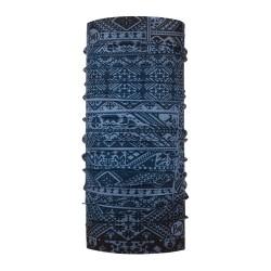 Complementos BUFF cuello con estampado étnico azul