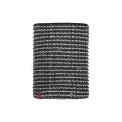 Complementos BUFF cuello gris y negro de lana y forro polar