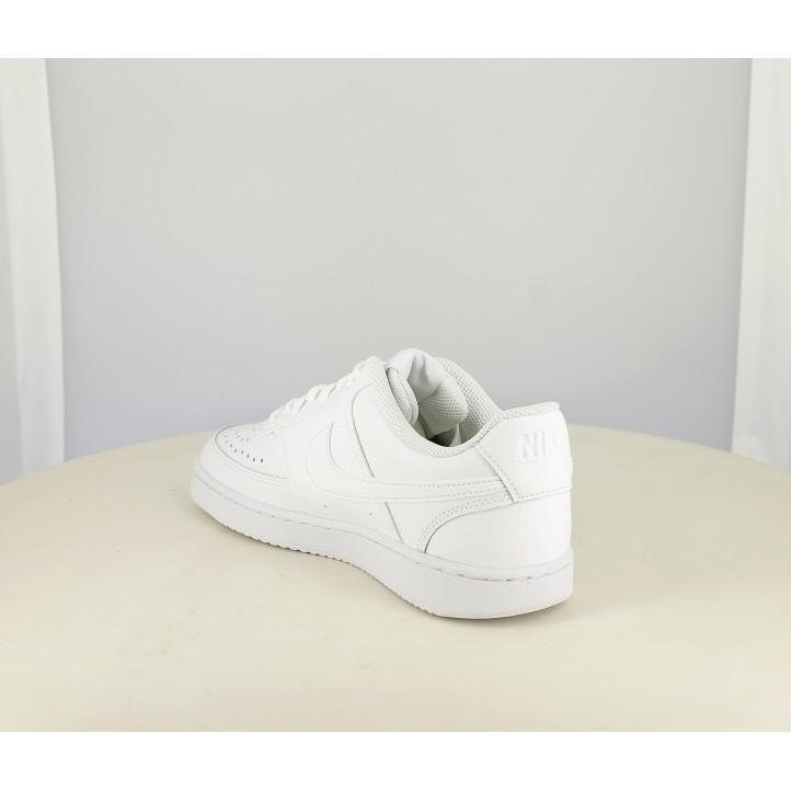 Sabatilles esportives Nike court vision blanques amb cordons - Querol online