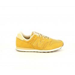 Zapatillas deportivas New Balance 373 mostaza con cordones - Querol online