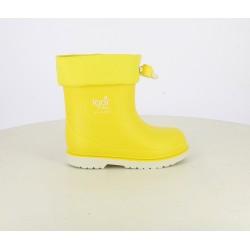 Botas agua Igor amarillas con cierre ajustable