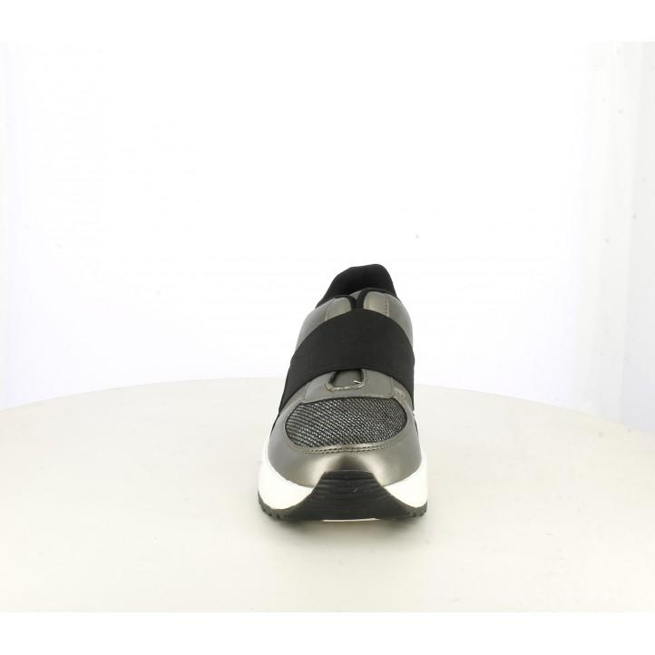Sabatilles esportives Funhouse grises metal·litzades amb plataforma - Querol online