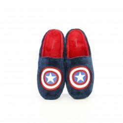 Zapatillas casa Garzon azules del capitán américa que brillan en la oscuridad - Querol online