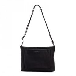 bolsos Slang Barcelona negro con cierre de cremallera múltiples bolsillos en el interior - Querol online
