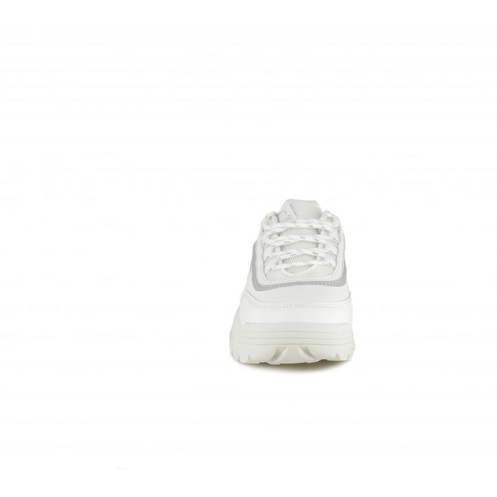 Sabatilles esport MustangKids de cordons blanques - Querol online