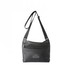 bolsos Slang Barcelona negro con bolsillos y tira ajutable - Querol online