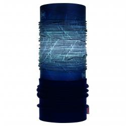 Complementos BUFF cuello tubular azul marino con forro polar