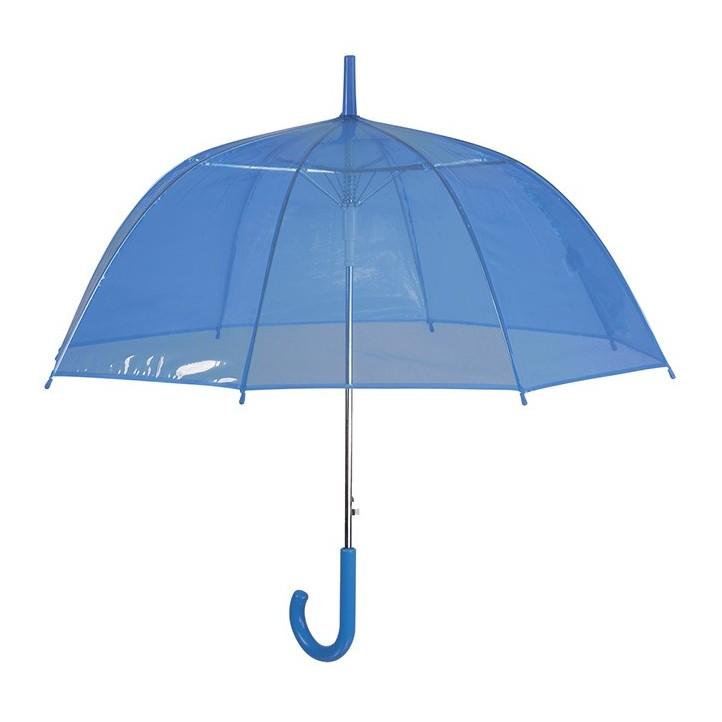 Complementos PERLETTI paraguas azul transparente - Querol online