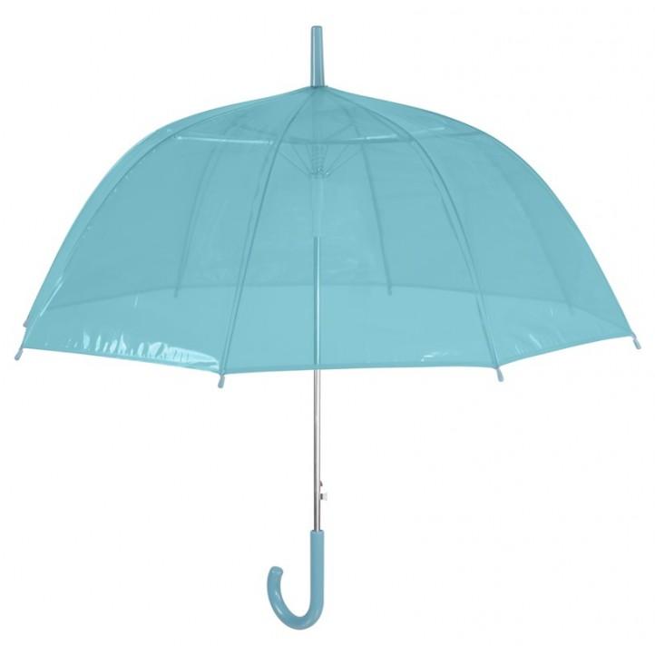 Complementos PERLETTI paraguas verde transparente - Querol online