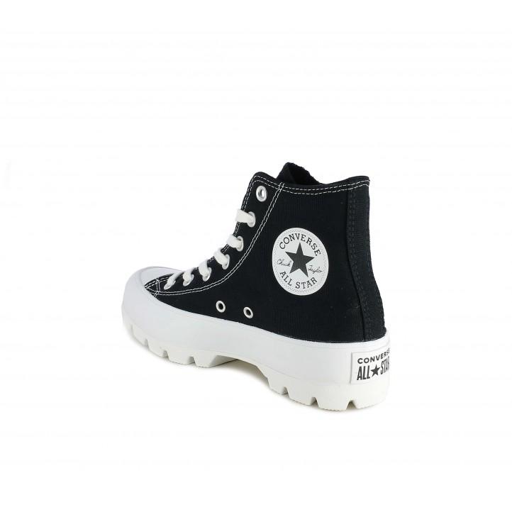 Sabatilles lona Converse chuck taylor all star lugged negres - Querol online